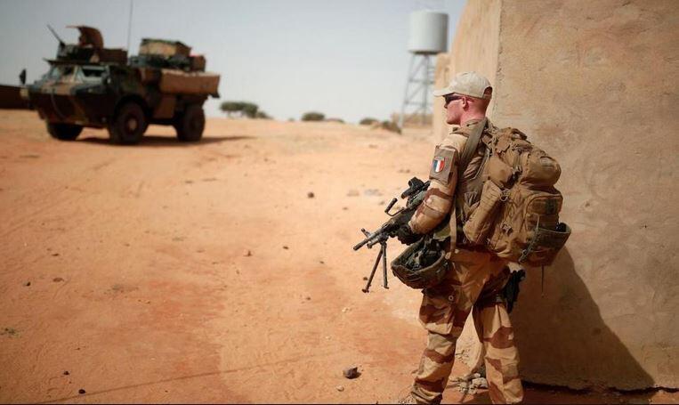 Soldats français dans l'opération Barkhane au Mali.