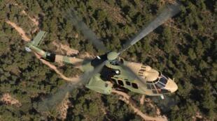 Les ventes d'hélicoptères Airbus sont tirées vers le haut par les hélicoptères militaires (notre photo).