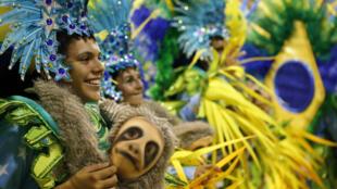 Près de 70 000 spectateurs ont assisté aux défilés du Carnaval de Rio de Janeiro en 2016.