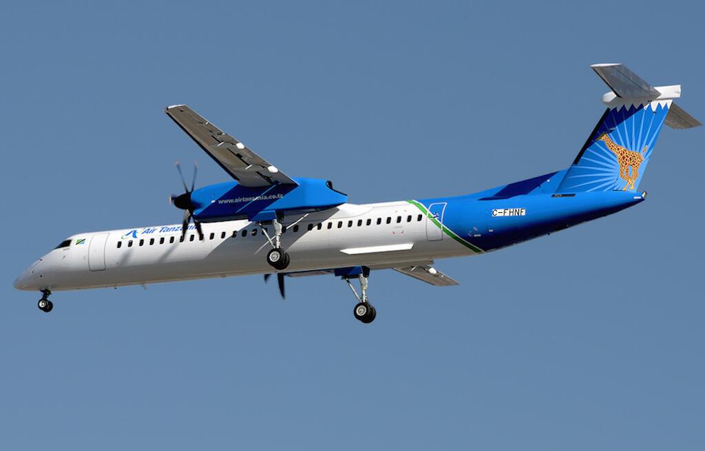 Mfano wa ndege aina ya Bombardier iliyonunuliwa na Serikali ya Tanzania