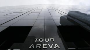 Areva's headquarters in Paris's La Défense business district