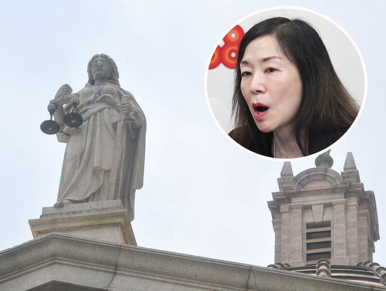 香港大律師公會副主席葉巧琦資料圖片