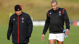 England coach Eddie Jones (left) selected Jonathan Joseph (right) for the Six Nations clash against Wales.