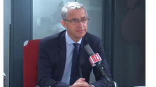 Jean-Michel Jacques, député LaREM du Morbihan, vice-président de la commission de la défense nationale et des forces armées dans les studios de RFI, le 24 septembre 2020