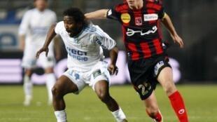 Bakari Koné était titulaire mais n'a guère brillé face à Boulogne.