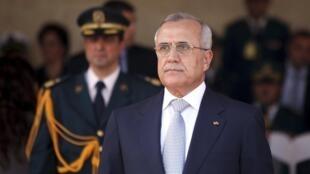 El presidente libanés Michel Sleimane.