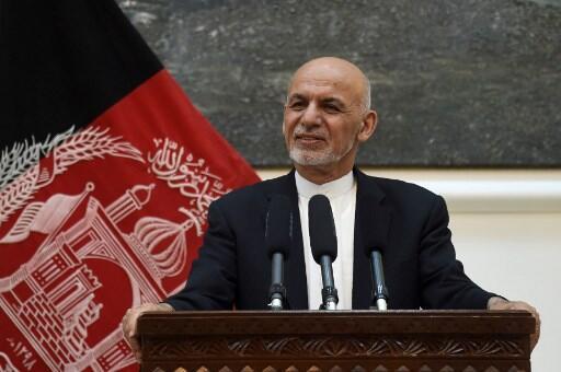 Rais wa Afghanisatn, Ashraf Ghani (Julai 9, 2018).