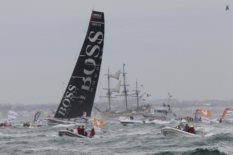 Vendée Globe старт гонки в 2012 году, Les Sables d'Olonne