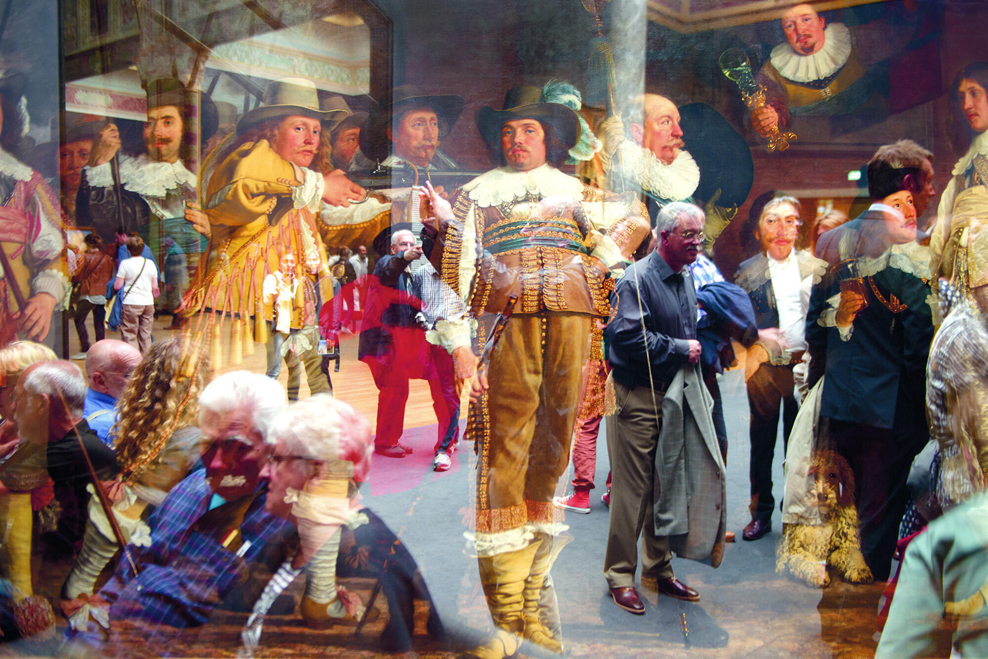 Serie 'Los Espíritus del  Museo'. Amsterdam, Museo Rijks
