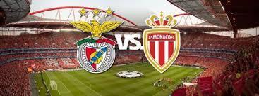 S L Benfica - A S Mónaco, no estádio da Luz, esta noite.