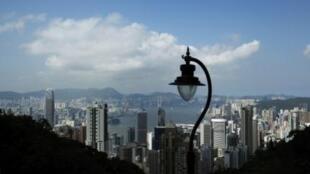 资料图片:香港俯瞰。摄于2011年7月7日。