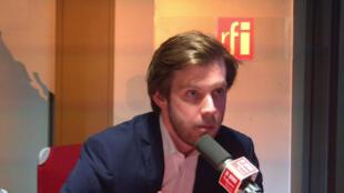 Damien Lempereur, avocat, porte-parole de Debout la France.