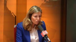 Yaël Braun-Pivet sur RFI le 13 septembre 2018.