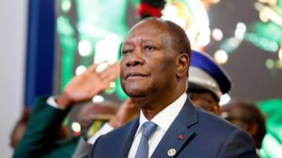 Alassane Ouattara, président de la Côte d'Ivoire: «C'est très clair. Je peux me représenter si je le souhaite».
