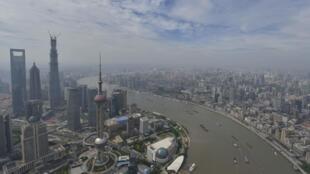 Vue de Shanghai, la capitale économique chinoise.