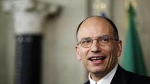Enrico Letta, escolhido primeiro-ministro da Itália nesta quarta-feira, 24 de abril de 2013.