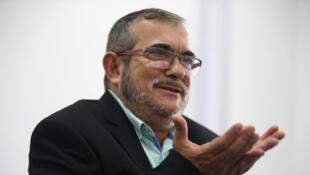 Rodrigo Londoño, líder das FARC. Novembro de 2016