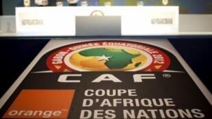 Répétition des officiels avant le tirage au sort de la CAN 2012.