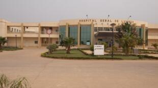 Novo Hospital Geral de Luanda, construído com apoio da China.