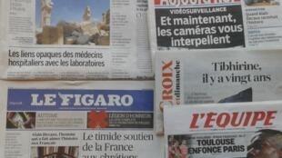 Imprensa francesa do dia 28 de Março de 2016