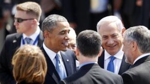 Esta é a primeira visita de Obama a Israel como presidente dos EUA.