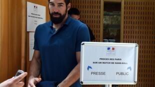 French handball player Nikola Karabatic