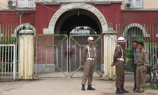 Les associations de défense des droits de l'homme birmanes ne défendent pas les droits des prisonniers politiques musulmans. (Photo: vue de l'entrée de la prison d'Insein à Rangoon, Birmanie).