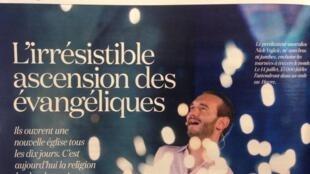 O pastor evangélico australiano Nick Vujicic reúne milhares de pessoas por onde passa, inclusive na França.