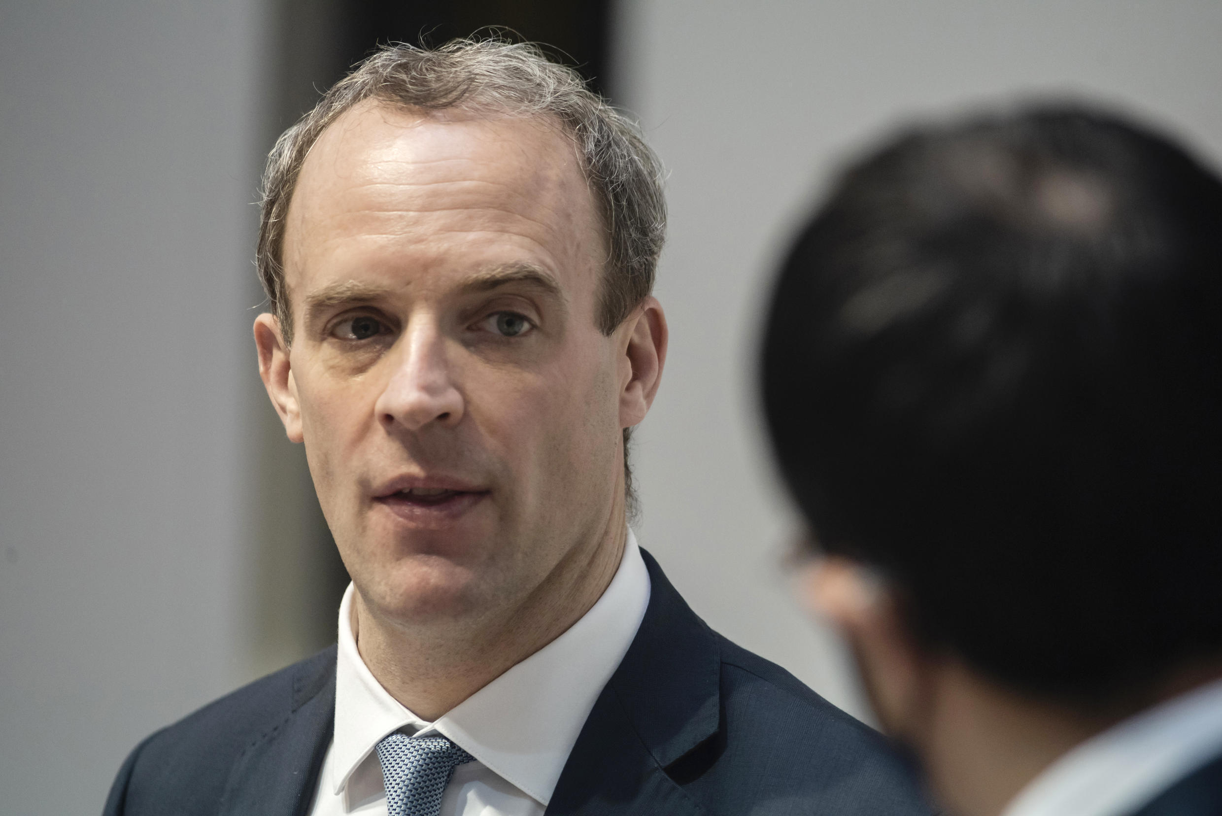 British Foreign Minister Dominic Raab