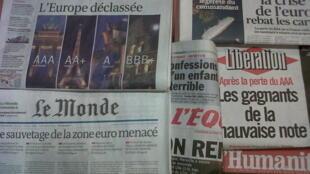Revista de Imprensa 16 de Janeiro de 2012