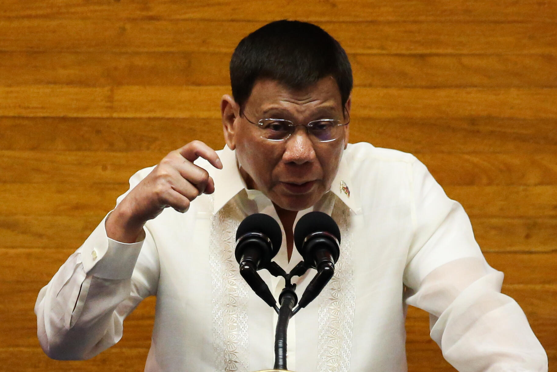 Rodrigo Duterte is barred under the constitution from seeking another term as president