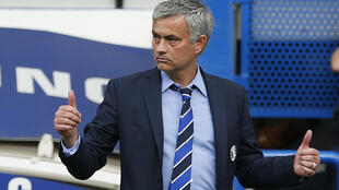 Jose Mourinho has led Chelsea to three of their four English Premier League titles