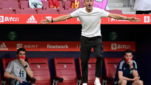 Two squads on his hands: Spain coach Luis Enrique now has a shadow squad of 17 players to call on for Euro 2020