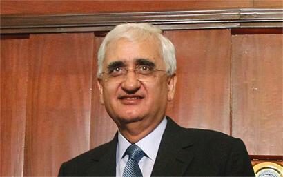 Ngoại trưởng Ấn Độ Salman Khurshid