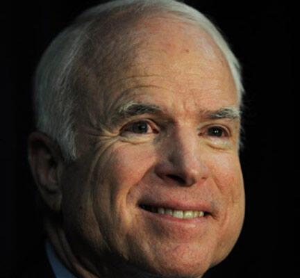 John McCain, candidat républicain.