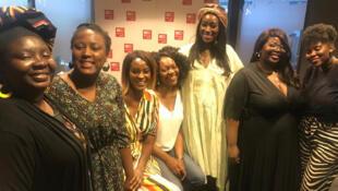 Nathalie Brigaud, cheffe et consultante culinaire ; Fatimata Wone, fondatrice de la marque W'ONE ; Anna Touré, chroniqueuse ; Joan Yombo, chroniqueuse ; Ndeye Tiote, blogueuse culinaire et Aïssatou Mbaye, blogueuse culinaire.