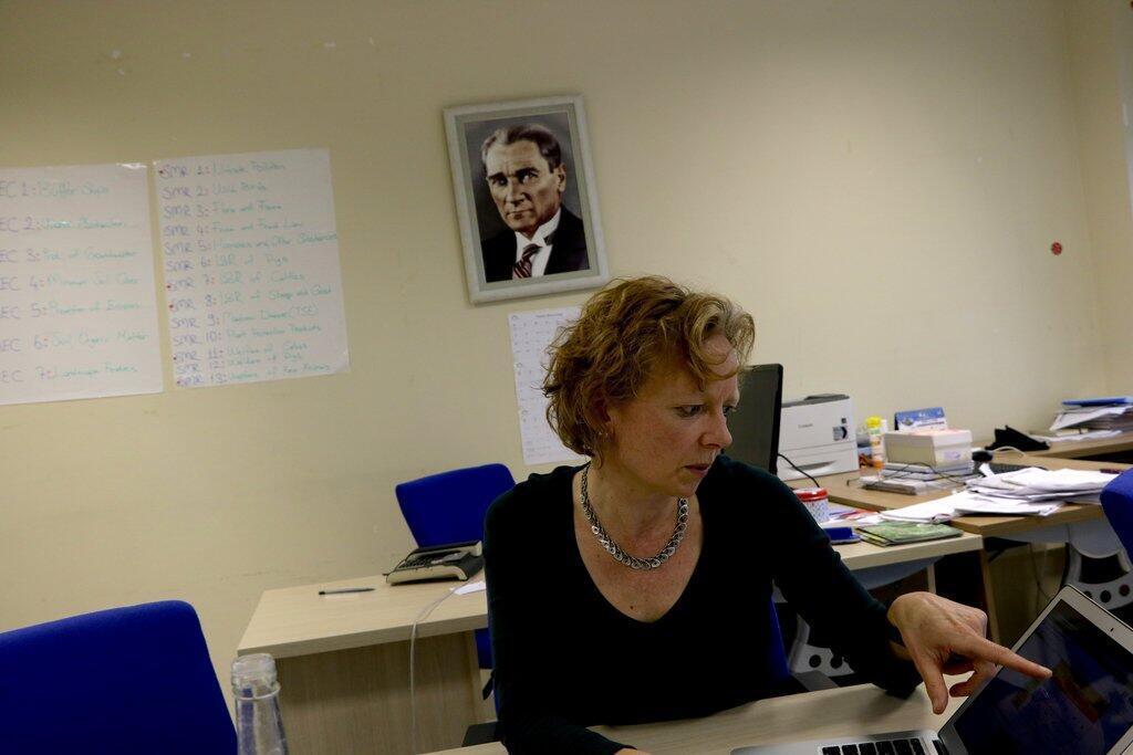 Esther Koopmanschap, consortium européen pour un système turc de conditionnalité environnementale des aides agricoles.