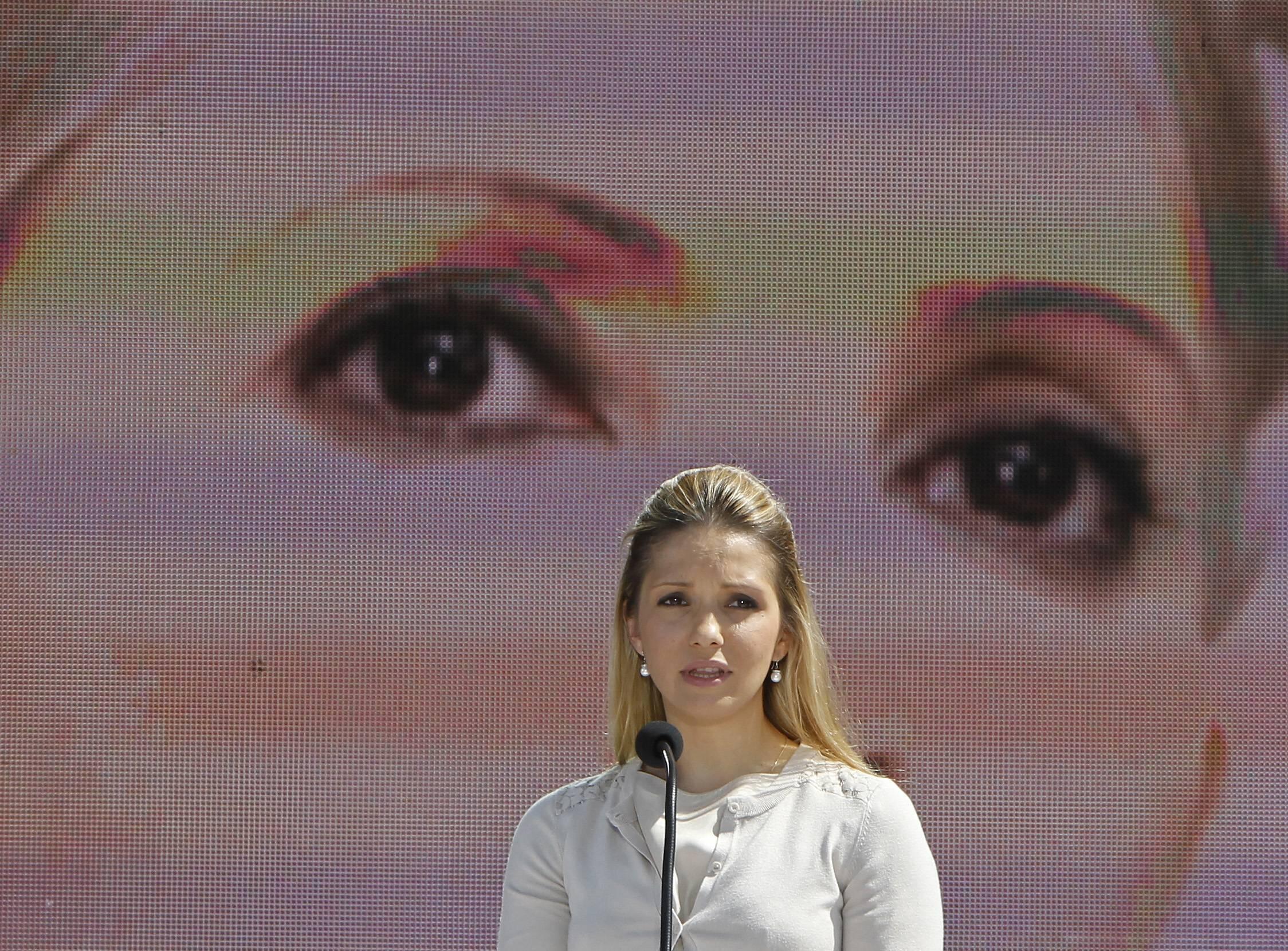 Евгения Тимошенко на форуме объединенной оппозиции в Киеве 12/05/2012