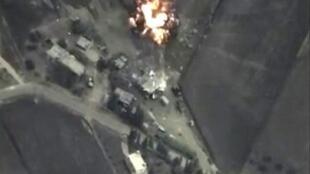 俄羅斯出動軍機轟炸敘利亞境內三省目標