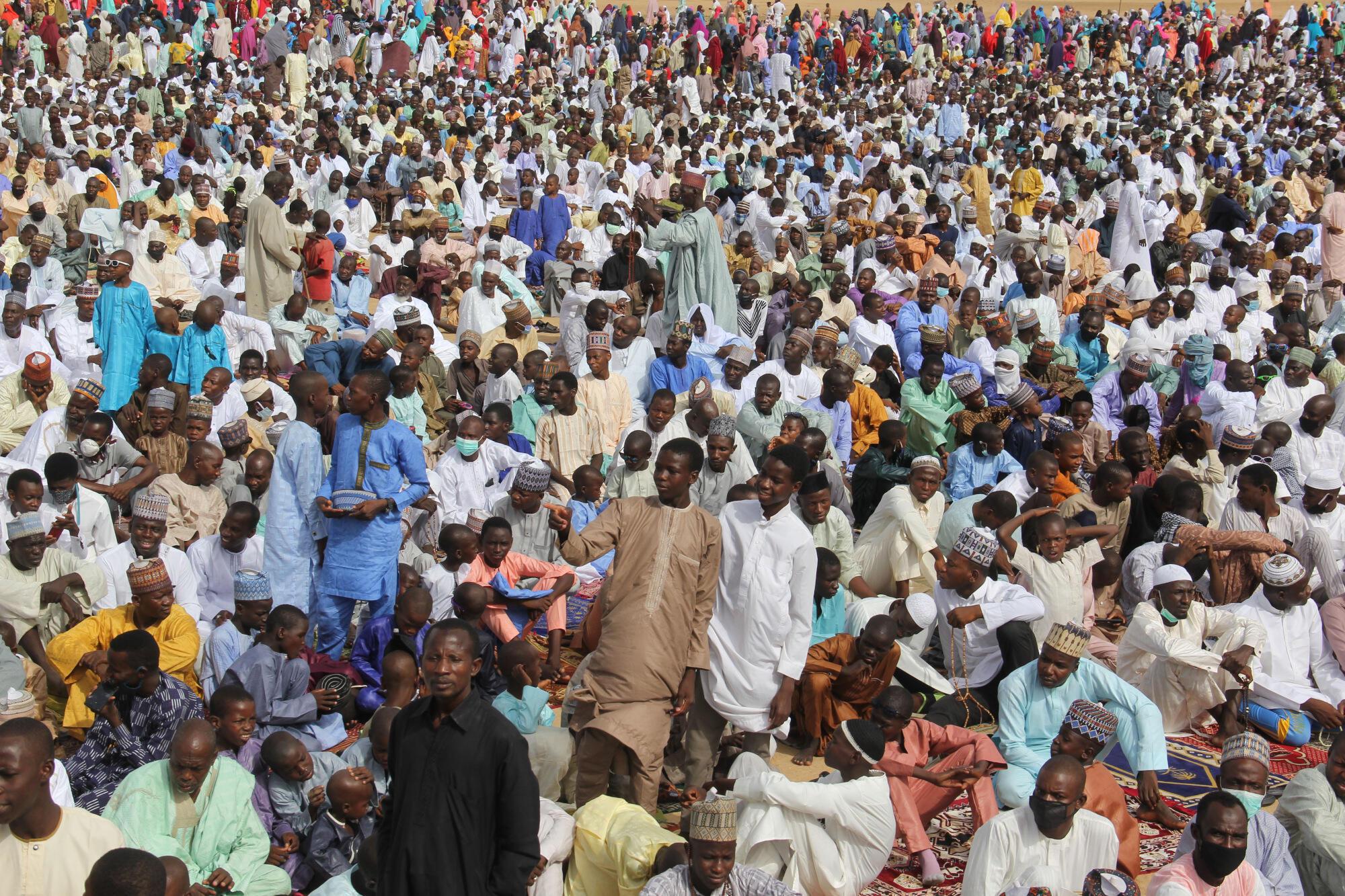 La población de Nigeria podría superar la  de China, convirtiéndolo en el segundo país más poblado del planeta, según el estudio publicado en  The Lancet.