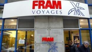 Une agence Fram à Toulouse.