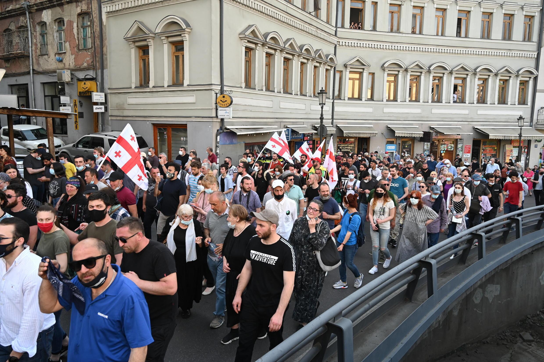 Tbilissi - manifestation