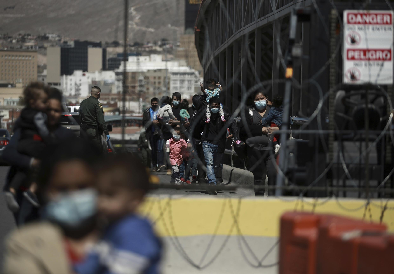 Image d'archive RFI  - Mexique - Ciudad Juarez- Des migrants