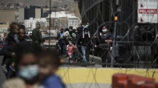 Mexique - Ciudad Juarez - Migrants - AP21082822141700