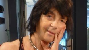 la escritora argentina Susana Romano sued en los estudios de RFI