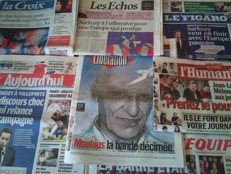 Diários franceses 12/03/2012