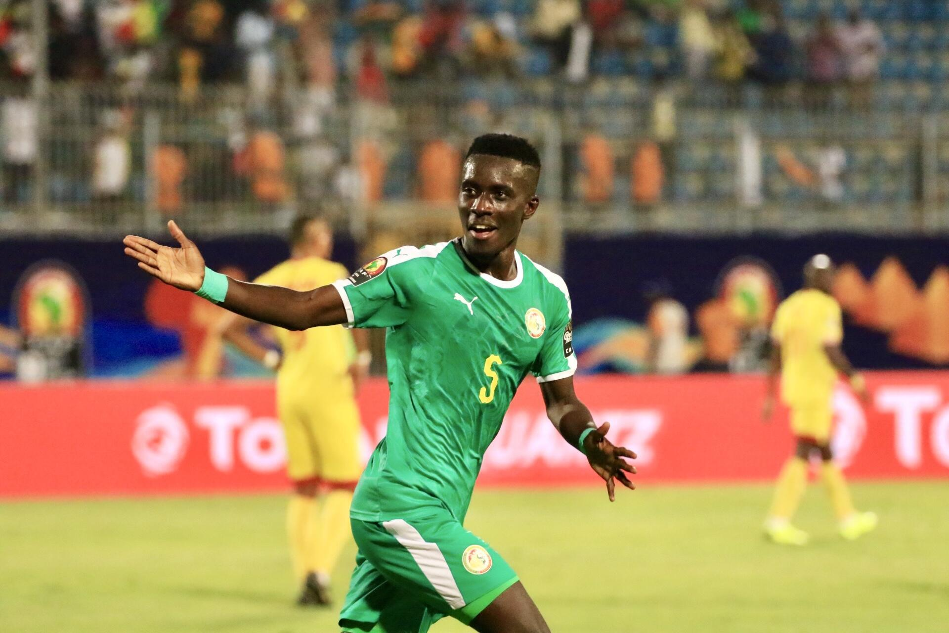 Idrissa Gana Gueye's goal took Senegal to the semi-final for the first time since 2006.