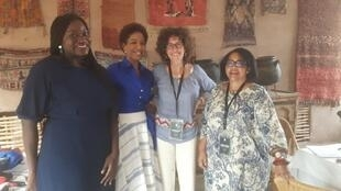 De gauche à droite: Fatoumata Ba, Nayé Bathily, Emmanuelle Bastide, Marie-Jeanne Serbin Thomas