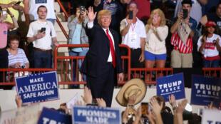 Trump celebra 100 dias de mandato em discurso na Pensilvânia