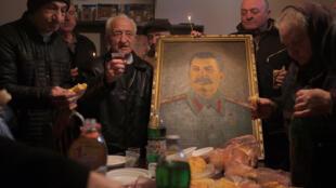 Anniversaire de la mort du dirigeant soviétique Joseph Staline dans sa ville natale de Gori, en Géorgie, le 5 mars 2018 (Illustration).
